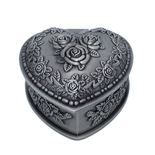 Heart Shape Crown Necklace - 2