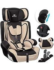 KIDIZ® Autokindersitz Kindersitz Kinderautositz | Autositz Sitzschale | 9 kg - 36 kg 1-12 Jahre | Gruppe 1/2 / 3 | universal | zugelassen nach ECE R44/04 | 6 verschiedenen Farben |