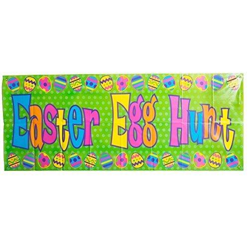 - Century Novelty Plastic Easter Egg Hunt Banner