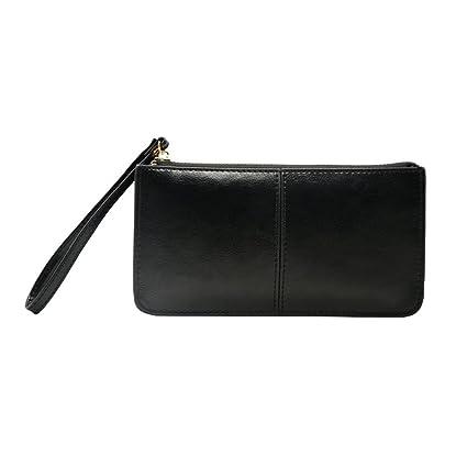 Mujer Carteras Cuero PU Leather tarjeta Carteras y monederos Piel Bolso Billetera Card Holders de gran