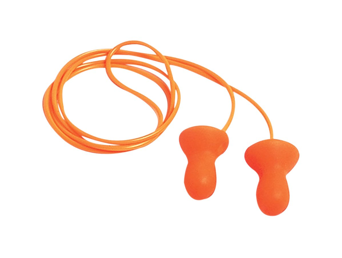 Howard Leight by Honeywell Quiet Corded Reusable Earplugs, 100-Pairs (QD30)