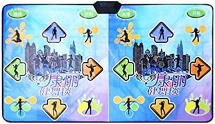 ダンスマットHDダンス毛布ダブルテレビインタフェースコンピュータデュアル使用の体性感覚ゲームダンスUSB電子ミュージカルダンスパッド ダブル子供用ダンスブランケット (Color : 02)