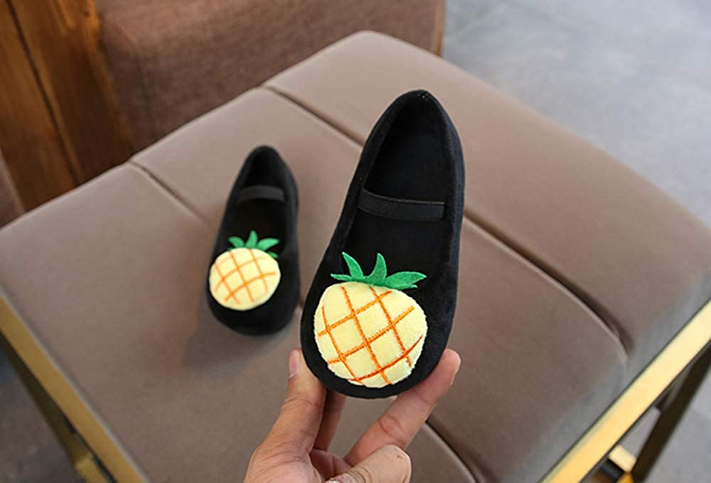 Lurryly❤Kids Girls Princess Shoes Autumn Winter Pineapple Sneakers Toddler//Little Kid
