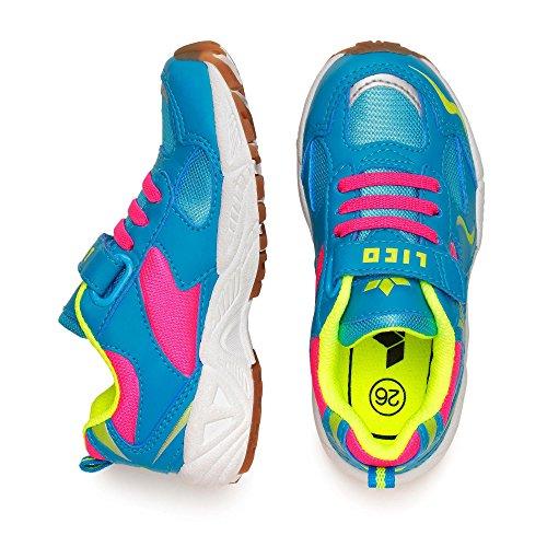 LicoBob VS - Zapatillas deportivas para interior niña turquesa