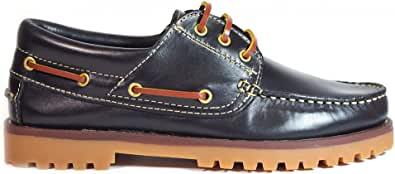 Zapatos para Hombre Fabricados en Piel La Valenciana 848 Marino