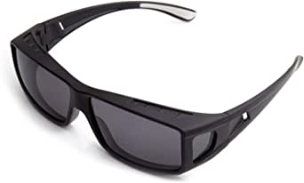 ROAR Fit Over Glasses with Polarized, TAC Lenses, Sunglasses,UV Protection.