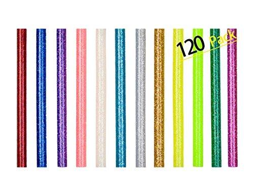 120 Pack Hot Glue Sticks for Glue Gun DIY Art Craft and PDR