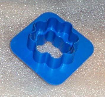 Tupperware Mini molde para galletas canapés masa queso cortador de Gadget azul: Amazon.es: Hogar