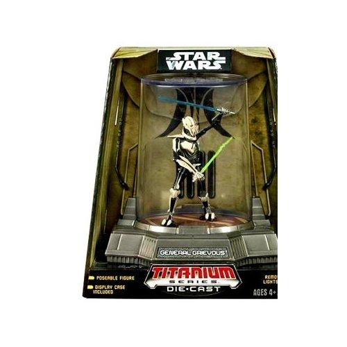 Hasbro Star Wars: Titanium Series 4 General Grievous Action Figure ()