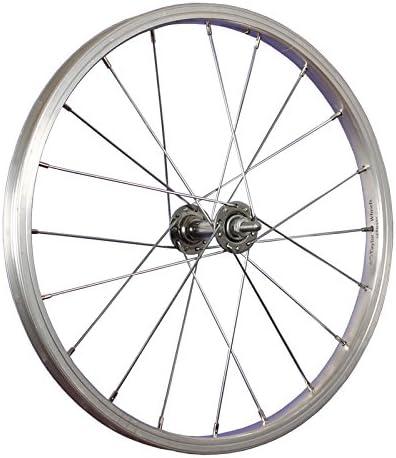 Taylor-Wheels 18 Pulgadas Rueda Delantera Bici buje Nirosta 355-19 ...