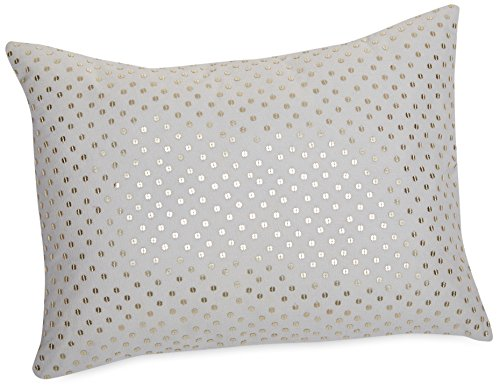 ather Shimmer Blossoms Pillow, 12