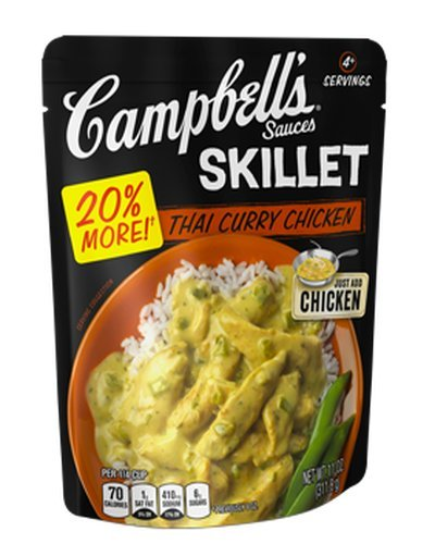 campbells-skillet-sauces-thai-curry-chicken-11-ounce-pack-of-6