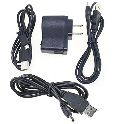 PK Power AC Adapter Charger & Cable for Nokia 6288 6290 6300 6300i 6301 6310 6500 Slide (Nokia Auto Adapter)