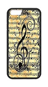 """Personality customization Cheap Case Cover for Iphone6 4.7"""",Music Note phone case,DIY Cell Phone Case with Sheet music. By PLUS11869A case"""