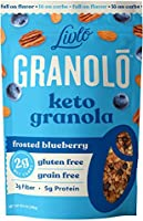 Livlo Keto Nut Granola - Low Carb Cereal With Only 2g Net Carb - Grain Free & Gluten Free - Low Sugar Healthy Snack -...
