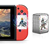 NFC Tag Game Cards for the Legend of Zelda Breath of the Wild Switch/Wii U - 22pcs Mini Cards with Crystal Case