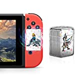 NFC Tag Game Cards for the Legend of Zelda Breath of the Wild Switch/Wii U - 22pcs Mini Cards with Crystal Case: more info