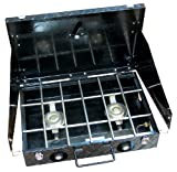"Stansport Diamond Plate 2 Burner ""Tuff"" Stove, Outdoor Stuffs"