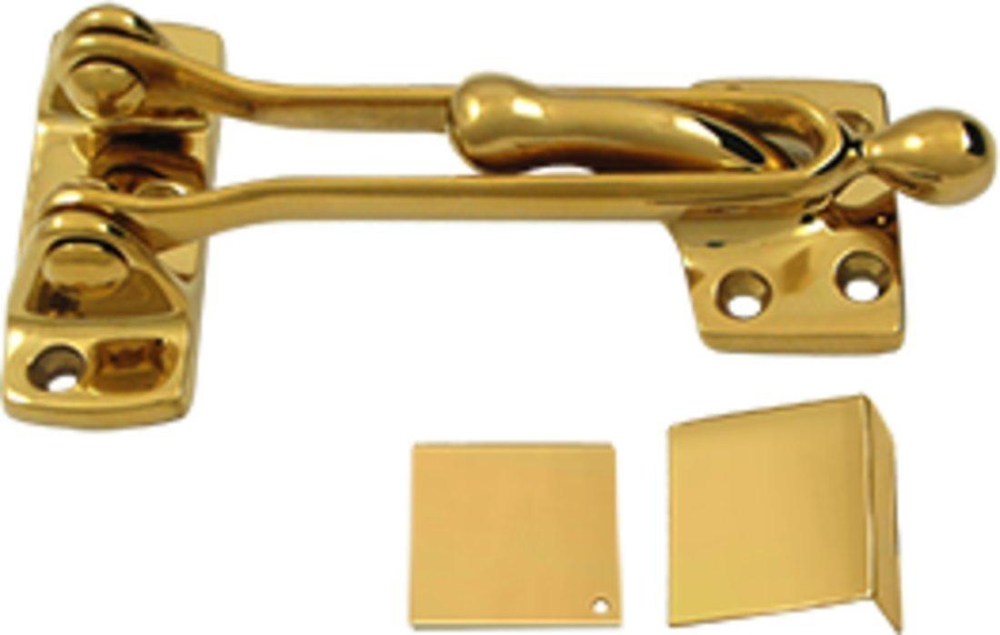 Deltana DG525CR003 Solid Brass 5-Inch Door Guard