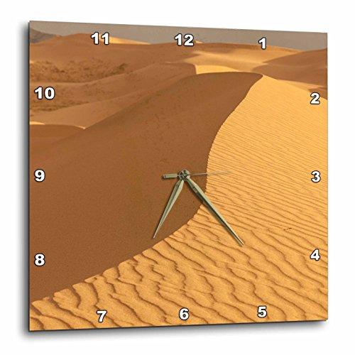 3dRose Danita Delimont - Deserts - Sand Dunes. Gobi Desert. Mongolia. - 13x13 Wall Clock - Els Outlet