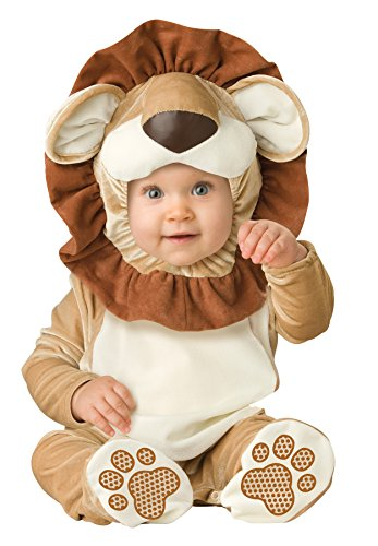 [UHC Baby's Lovable Lion Infant Toddler Child Animal Theme Halloween Costume, 12-18M] (Ultimate Party Animal Halloween Costume)