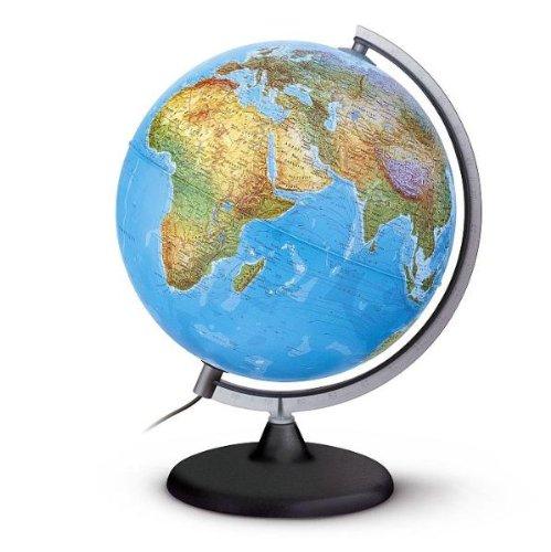 DPA 3062 Aktionsglobus: Doppelbild-Leuchtglobus physisch/politisch, 30 cm Durchm., Kunststoffausstattung Räthgloben 1917 Globus / Globen (Nonbook) Reisen / Globen