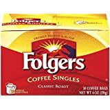 Folgers Coffee Singles Classic Roast Coffee Bags (114 count)