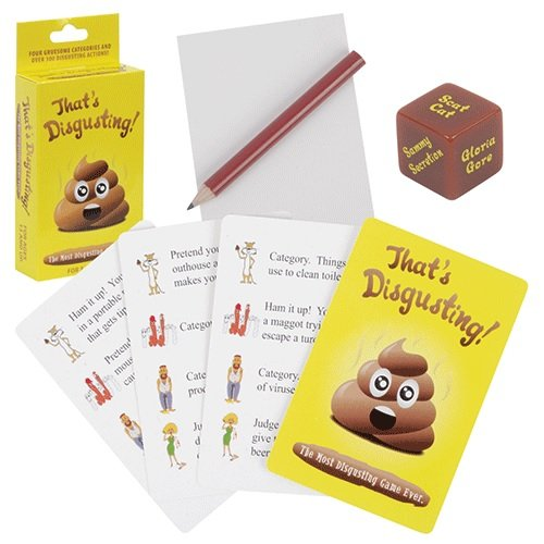 Novelty That's Disgusting Party Game