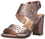 Naturalizer Women's Zinna Dress Sandal, Bronze, 9 M US
