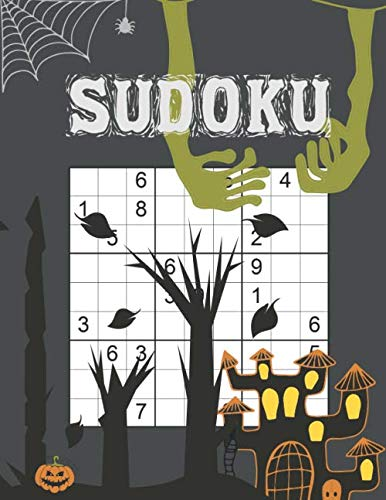 Halloween Crossword Puzzle Answers (Halloween Sudoku: 5 Difficulty Levels | Easy - Normal - Hard - Very Hard - Extreme | Over 400 Puzzle Grids With Answers At The)