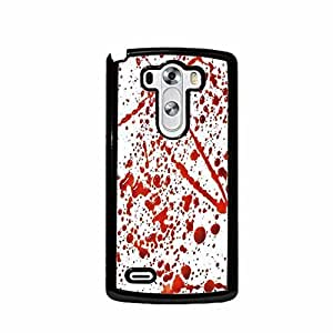 Blood Splatter LG G3 (Not for Verizon) Plastic Cell Phone Case Cover