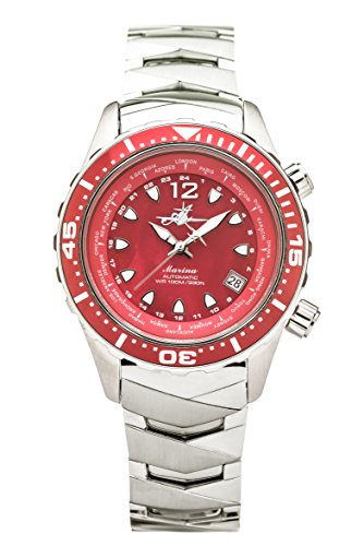 The Abingdon Co Analog Marina in Reef Red Women's Wristwatch MA-RRED -  The Abingdon Co.