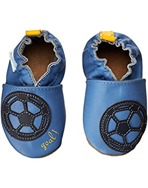 Soccer Boy Crib Shoe