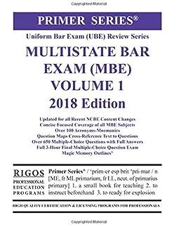 Rigos primer series uniform bar exam ube review series multistate rigos primer series uniform bar exam ube multistate bar exam mbe volume fandeluxe Choice Image