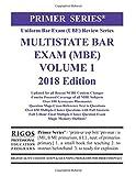 img - for Rigos Primer Series Uniform Bar Exam (UBE) Multistate Bar Exam (MBE) Volume 1 book / textbook / text book