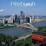 Pittsburgh 2019 12 x 12 Inch Monthly Square Wall Calendar, USA United States of America Pennsylvania Northeast City