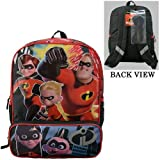 Disney Incredibles 2 Molded Front 16' Backpack Tote, One Size