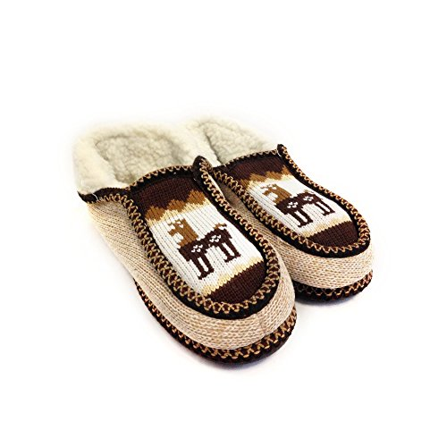 Real Wool (The Argentino Slippers Handmade Moccasin (Real Wool Inside!) From Salta, Argentina)