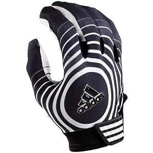 Adidas Supercharge Football Gloves Mens Style: ADI006-BLACK/WHITE Size: XXL
