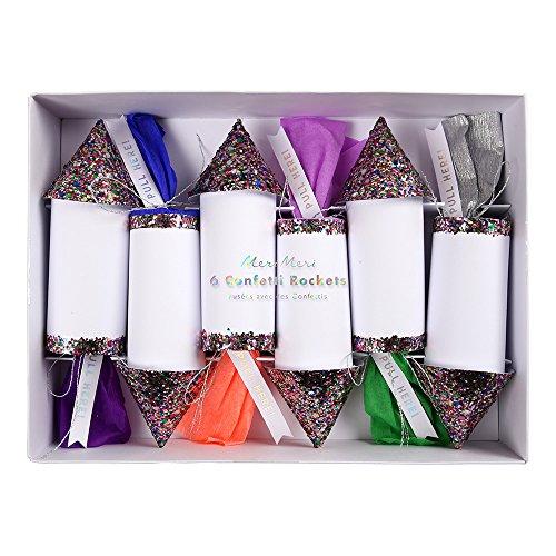 Meri Meri Multicolored Confetti Rockets (medium) (Confetti Rockets)
