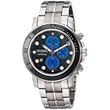 Jiusko 76LSB08 JIUSKO Deep Sea Series Titanium Quartz Chronograph Silver, Blue, Men's Dive Watch