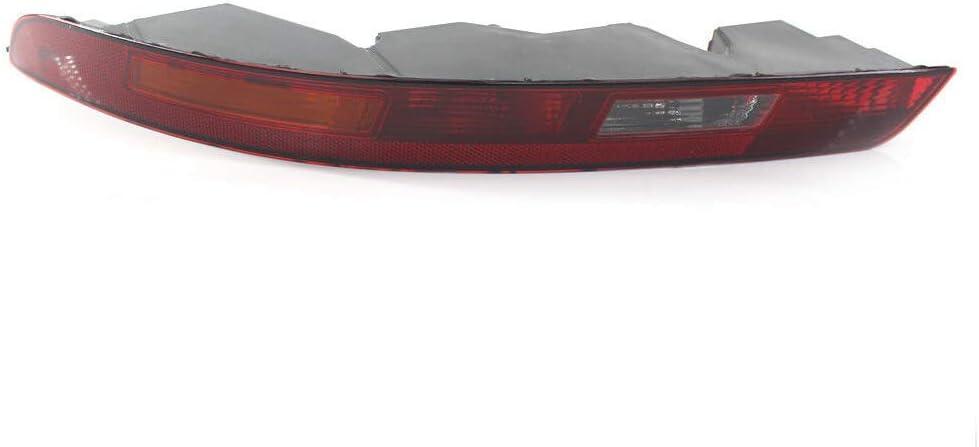 Eastar Rear Left Lower Tail Light Reverse Brake Bumper Lamp fit for Audi Q3 2016 2017 2018