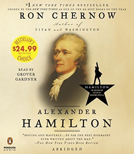 Book cover from Alexander Hamilton by Ron Chernow (2016-05-31)by Ron Chernow