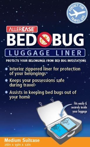 (Aller-Ease Bed Bug Luggage Liner, Carry-On, Small)