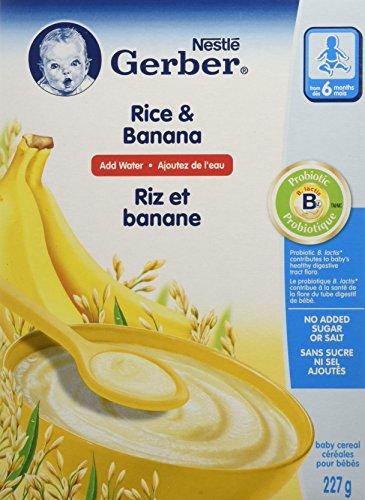 Nestle -6 Months Rice & Banana Add Water 277g