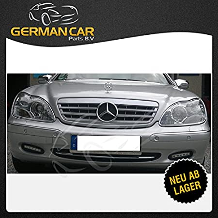 Germancarparts Gcp 220041 Grill 98 02 Silber Chrom Auto