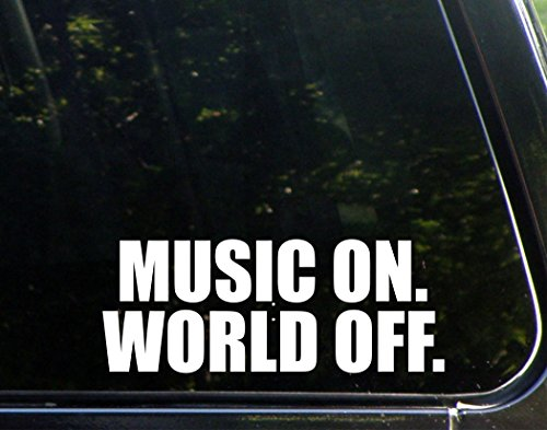 Music On. World Off. - 8 3/4