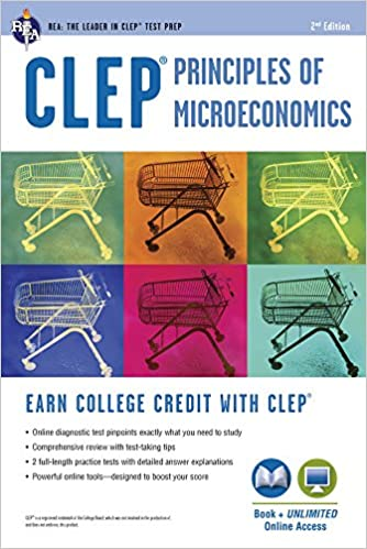 Clep principles of microeconomics book online clep test clep principles of microeconomics book online clep test preparation 9780738610283 economics books amazon fandeluxe