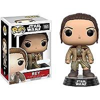 Funko 11708 - Personaggio in Vinile Star Wars Rey con Giubbotto di Finn