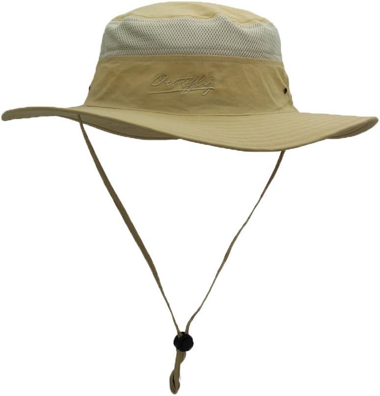 FayTop Summer Sun Hat UPF 50 Boonie Hat Adjustable Bucket Hats Sun Protection Hat Outdoor Cap Hat Fishing Hat for Women Men B16015-US